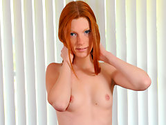 Intoxicating red head fucks the rabbit vibrator for the first timevideo
