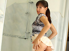 Nubile Jasha showers off after a day of masturbatingvideo
