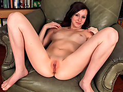 Cute and adorable model Victoria Cheeks loved getting naked and spreading her tiny pink pussy for us. She loves touching her perky tities and masturbating with a toy in her ass.video