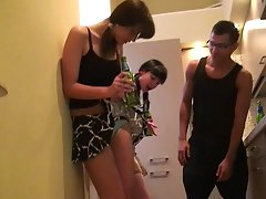 Nude party girls give head and swallow cumvideo