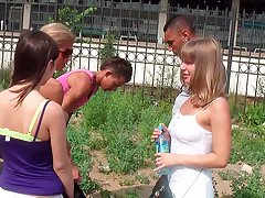 Students barbecue partyvideo