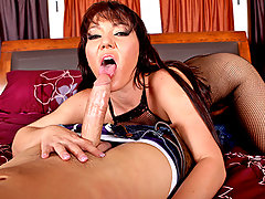Come watch Claire Dames get all dolled up and stretched out to take a huge cock all the way in her vagina. Claire loves sucking and fucking  huge cocks and she shows us exactly how she prepares herself to take the biggest. Deepthroating isn't just a hobby for Claire it's a profession.video