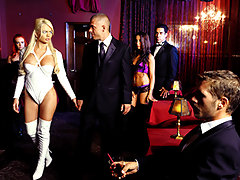 Look around. There\'s a secret society of X-Rated people living among us. They appear normal, but behind closed doors, their extreme sexual powers make them hornier than you can possibly imagine. Let nympho Alexis Ford take you on a tour of the Hellfire Club, and introduce you to a sexual world you never knew existed.video