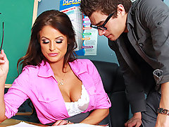Xander is a great student. He aces almost every exam that he writes, there's only one subject he just can't quite grasp. Brooke knows that all students should be well rounded, so when Xander fails his Sex Education exam, she knows the only way that he'll start getting better grades again is if he studies harder. But instead of telling him that, she has sex with him.video