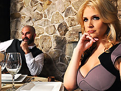 Sarah has been out of sight for a minute and she finally gets a dinner invitation from her husband. It builds up to be a moment they can work on their relationship but her husband resorts to the bad habit of ignoring her. Danny the stranger sitting at the bar notices her loneliness and offers to show her a night of surprises.video