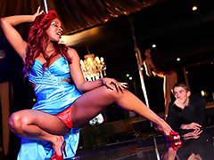 It\'s Valentine\'s Day, and Danny is having one stellar evening at the strip club, watching the mesmerizing moves of exotic dancer and singer Jasmine Webb. They can\'t take their eyes off each other, and soon Jasmine\'s sweet crooning turns into moans of erotic ecstasy, making it one night neither of them will forget anytime soon.video