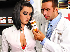 Presley is a very busy doctor with no time for a personal life. She has been secretly writing herself prescriptions for a new kind of sexual enhancer. Keiran, the pharmacist, catches on to Presley\\\'s little plan and confronts her. She tells him about the pills and what they can do so they both take some have a very intense sexual experience.video