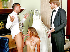 It's her big wedding day and bride Honey West can't stop thinking about Keiran; her fiance's best man. Keiran fucked Honey a week before the wedding, and all Honey wants now is Keiran's big dick. Keiran comes to get Honey and to see why it's taking her so long to get to the altar, that's when Honey shows Keiran that something so wrong can feel so good.video