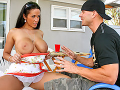What do pornstars do when they're not fucking someone for money?? They are looking for someone to fuck for free!!! Today we follow Carmella Bing, one of the biggest pornstars out there, in her quest for a big cock. It turns out Johnny Sins left a very good impression on her the last time they shot a scene together because this time Carmella went over his place looking for his big fat cock!!! Carmella gets ripped big time by Johnny's HUGE cock and the load he put on this big titted sexy pornstar in the end is just priceless!! Enjoy.video