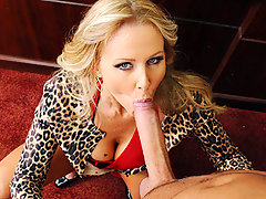 A matchmaker extraordinaire, Julia Ann is a savvy business woman who runs a high class dating service for female millionaires.  Satisfaction is always guaranteed, which is why she insists on thoroughly inspecting of all potential young studs before recommending them to her clients.  Watch as Keiran attempts to pass through Julia Ann\\\'s quality control tests to see if he can measure up to her standards!video