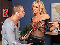 Danny just can't seem to pick up chicks. He's sick of being turned down, so when he sees a business card in the school washroom for a slut to make his dreams come true, he calls her right away. Maybe proving that he can get laid will bring his mojo back...video