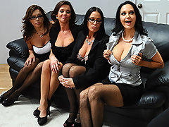 Keiran is hard pressed to find a new assistant...especially after all 4 applicants prove themselves to be equally qualified.  The only thing to do is to invite Ava, Francesca, Vanilla and Veronica to one final group interview where each one can prove that they have the best assets for the open position!video