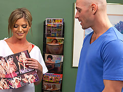 Johnny is settling in at his local sperm bank to make a donation. But he\'s so nervous he won\'t be able to make the magic happen! And what if someone sees him?  Luckily Nurse Brianna is going to give him all the motivation he needs to get the job done.video