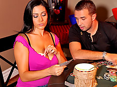 Raylene hasn't gone on a date since her husband left her but is finally ready to move on when she gets asked out on a date by a guy at a coffee shop. However, her spirit is crushed once again when her date ditches her last minute. When she goes downstairs to see her son, who is playing poker with his friends they are quick to comfort her, especially her sons friend Keiran who goes 'all in' during the poker game.video