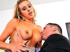 "Samantha Saint is a broke college student who's having trouble paying her bills. Surfing online one day, she finds a website advertises ""Wealthy, Successful Man Looking for Sugar Babies with Boobs"" and decides to give it a go. Are Samantha's boobs epic enough to satisfy a wealthy, man tits fetish? I guess you'll just have to watch and see!video"