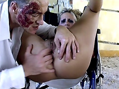 Sexy Blonde Nurse Enjoy Pussy Spreadingvideo