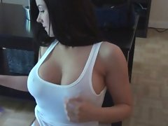 Sweet Krissy has one of the nicest sets of big boobs on the net! Watch as she worships and massages them in front of the camera.video