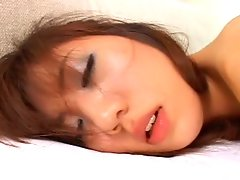 Skinny bitch Yurika Kuraki gets it from behindvideo