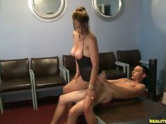 Mimi works off some stress and a little pay back for the cheating husband.video