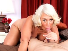 Jeannie Lou relieves stress one suck at a time.video