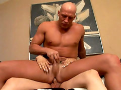 Horny Tranny Enjoys Fucking A Big Muscular Man & Get Facialvideo