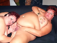 There's nothing hotter than two hefty mature redheads in a hot lesbian scene. Agnes and Margaret starts this scene with a hot lesbian tease, taking off their clothes and spreading their thick thighs wide to take turns lapping and finger banging each other's mounds.video