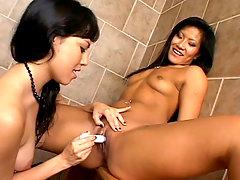 Toy Fucking Asian Lesbosvideo