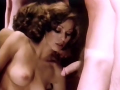 A couple is dancing together and the girl is stroking the guy?s crotch. A little later they are both naked and she is sucking his dick. A little later she is sitting opposite him, masturbating. Then the guy goes on his knees and licks her pussy.video