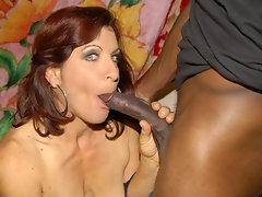This horny mature slut loves her cocks to be blackvideo