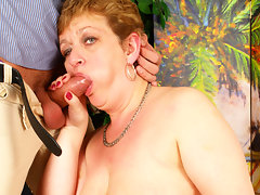 Kinky housewife playing with her toy boyvideo