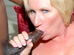 Kinky mama getting two black cocks at oncevideo