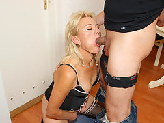 This horny mature mama gets it hard and longvideo