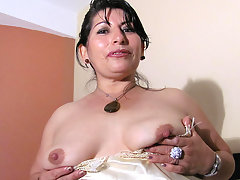 Hot mama playing with a big toyvideo