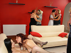 A special all lesbian old and young sexpartyvideo