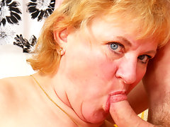 Mama loves fucking and sucking her boy toyvideo