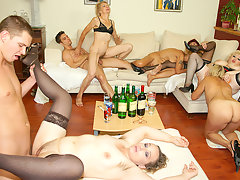 A special and kinky mature sexpartyvideo