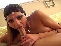 Hindou gets cream pie after getting pounded by a huge enginevideo