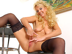 Merilyn is a mature cougar thats not afraid to pounce on her prey! Merilyn gets what Merilyn wants no question, and today she wants a young hunk. Watch her suck and fuck her way to orgasm in her red hot videos and pictures!video