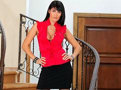 Anilos Eva Karera finger bangs her juicy pussy doggystylevideo