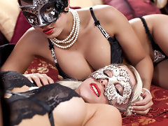 Nice Sexy Women Having Awesome Lesbian Sex With Toysvideo