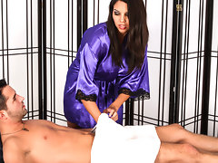 Missy Martinez takes an Anonymous Cumshot Massage Facialvideo