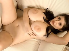 Big Tits Bulging Under A Tight Blousevideo