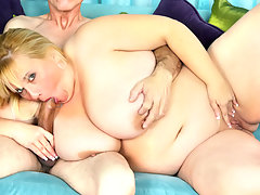 This blonde fat whore gets the surprise of a lifetime. COCK!video