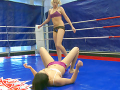 Nude Fight Club presents Larah vs. Diana Stewartvideo