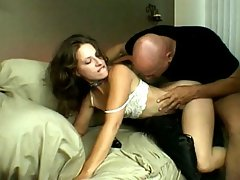 Lena Ramon is all about setting the modd while she waits for her lover. Here, she\'s wearing a sexy lace cami and panties and to start her off just right, she just pushes her panty to the side as she dips her fingers in her hairy pussy for a taste of her juices.video