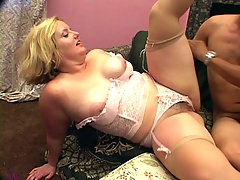Asian Melody works her partner\'s cock with her mouth slobbering every inch of his stiff meat. Not long after that she starts spreading her thighs to show off her hairy muff. Her partner gave it a thorough cock thrusting before covering her bush with spunk.video
