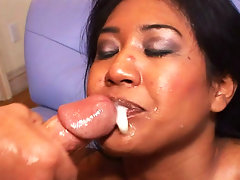 Indian babe gets big white dick and squirting orgasm in herevideo