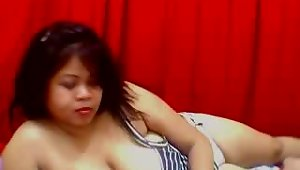 DoubleDBBW is a lovely Asian BBW from Thailand. She\'s one of the hottest BBW cam girls we\'ve met so far and we just can\'t enough of her. She\'s got an exotic look to her and an amazing set of double D boobs. DoubleDBBW graces us with this video from her recent webcam show.video