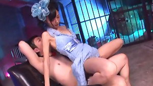 Petite Asian teen Aino Kishi loves putting on costumes and having Asian sex. You should see her nurse outfit  she looks like a very seductive naughty nurse. You have to see her get her pussy fucked hard while shes in her nurse's uniform.video
