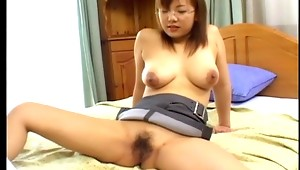 You definitely won't find a sexier office Japanese slut than this huge tit babe as she has everything that a man could ever wish for with a great pair of knockers that she ain't afraid of showing! This hottie wastes no time at all by rubbing this dude's cock and pulling it out where then she ends up showing of her wild blowjob and fucking techniques like you've never seen before!video